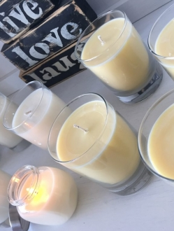 Soy Round Jar 8 ounce Candle – 1 unit (SOYRJ)